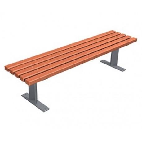 Kovová lavička Rossa