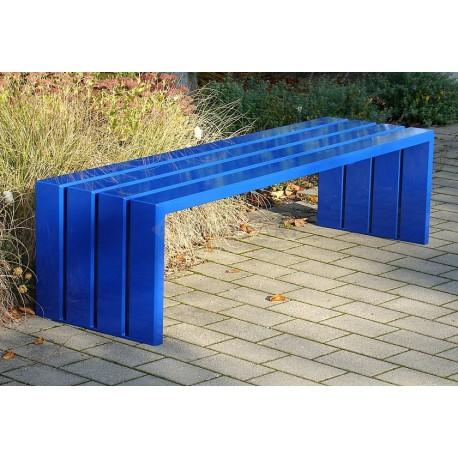 Ocelová lavička Beata