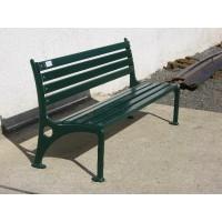 Litinová lavička Moderna