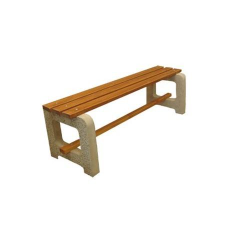 Betonová lavička Max