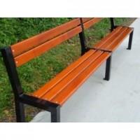 Kovová lavička Zlín 2