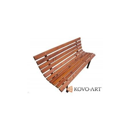 Kovová lavička ZAHRADNÍ