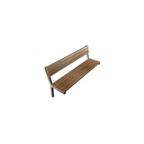 Kovová lavička CITY