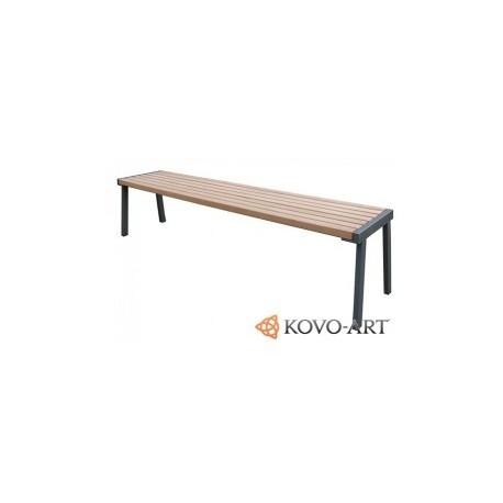 Kovová lavička Simpl