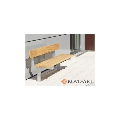 Kovová lavička Ardo