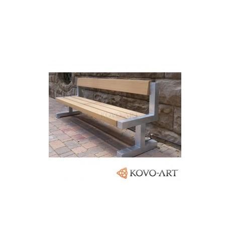 Kovová lavička Vincent