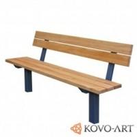 Kovová lavička Karin
