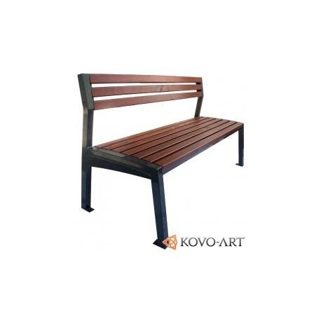 Kovová lavička Reila