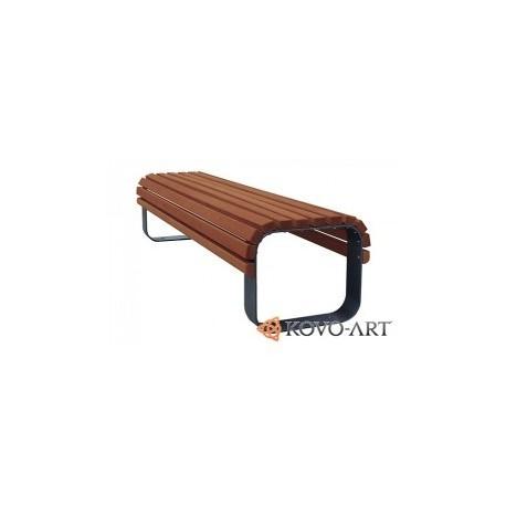 Kovová lavička Alto