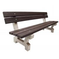 Betonová lavička Recyklát