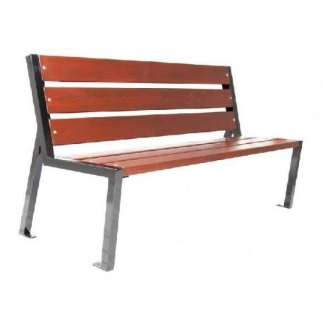 Kovová lavička Miela