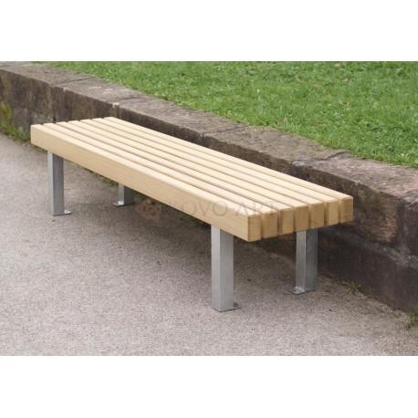 Kovová lavička One