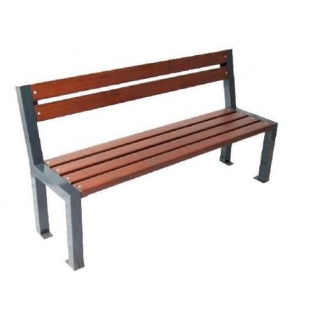 Kovová lavička Opolany