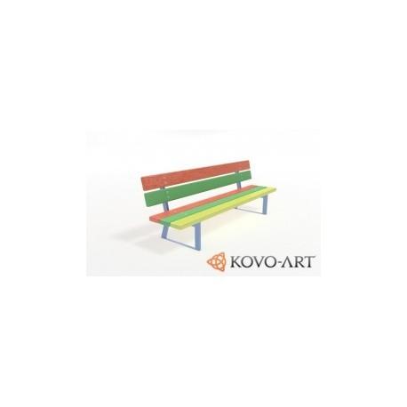 Dětská venkovní lavička Ema