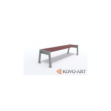 Parková lavička Flor
